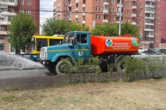 Хөрсний усыг ногоон байгууламж, авто машин угаалгын газруудад ашиглана