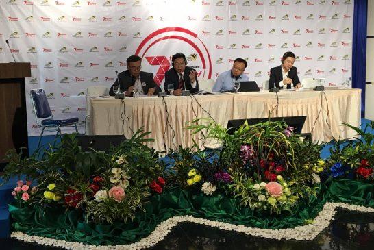 """Улаанбаатар хотын Ерөнхий менежер Т.Гантөмөр Индонези улсын Танжунгпинанг хотод 2017 оны 7-р сарын 19-21 өдрүүдэд зохион байгуулагдсан """"Нөөцийн цогц менежментийн бүс нутгийн 7-р семинар""""-т оролцлоо."""