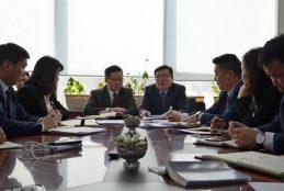 Засгийн газрын хэрэг эрхлэх газрын дарга Г.Занданшатар Улаанбаатар хотын Захирагчийн ажлын албаны үйл ажиллагаатай танилцлаа