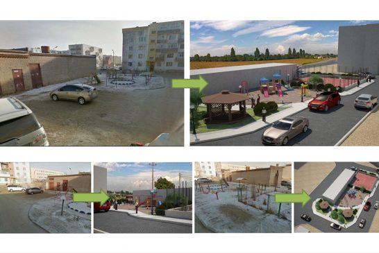 Шинээр байгуулах долоон жишиг гудамж, 16 тоглоомын талбай