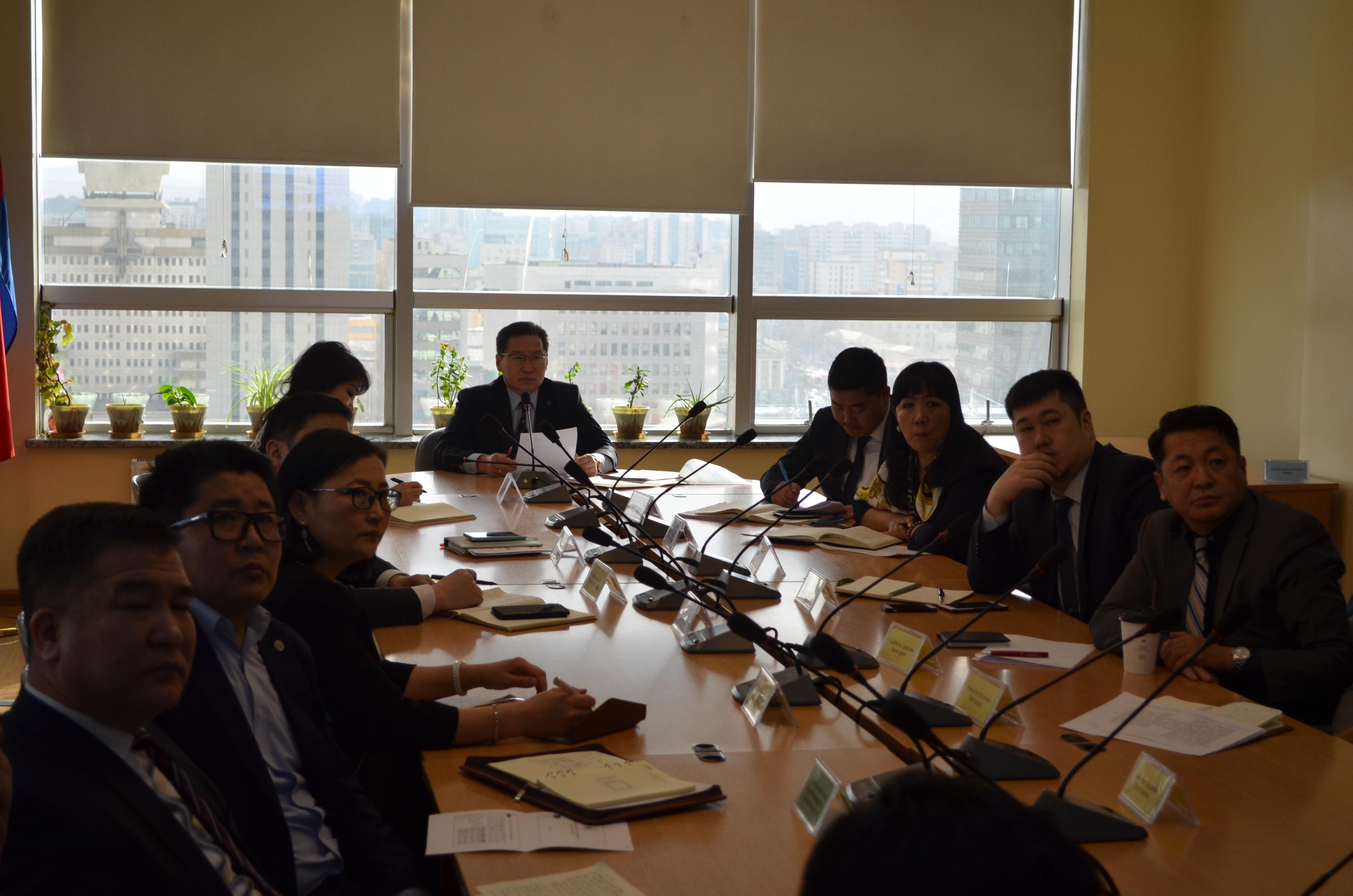 Улаанбаатар хотын Ерөнхий менежерийн 2019 оны 03 дугаар сарын 29-ны өдрийн Шуурхай зөвлөгөөнөөр өгч буй үүрэг даалгавар