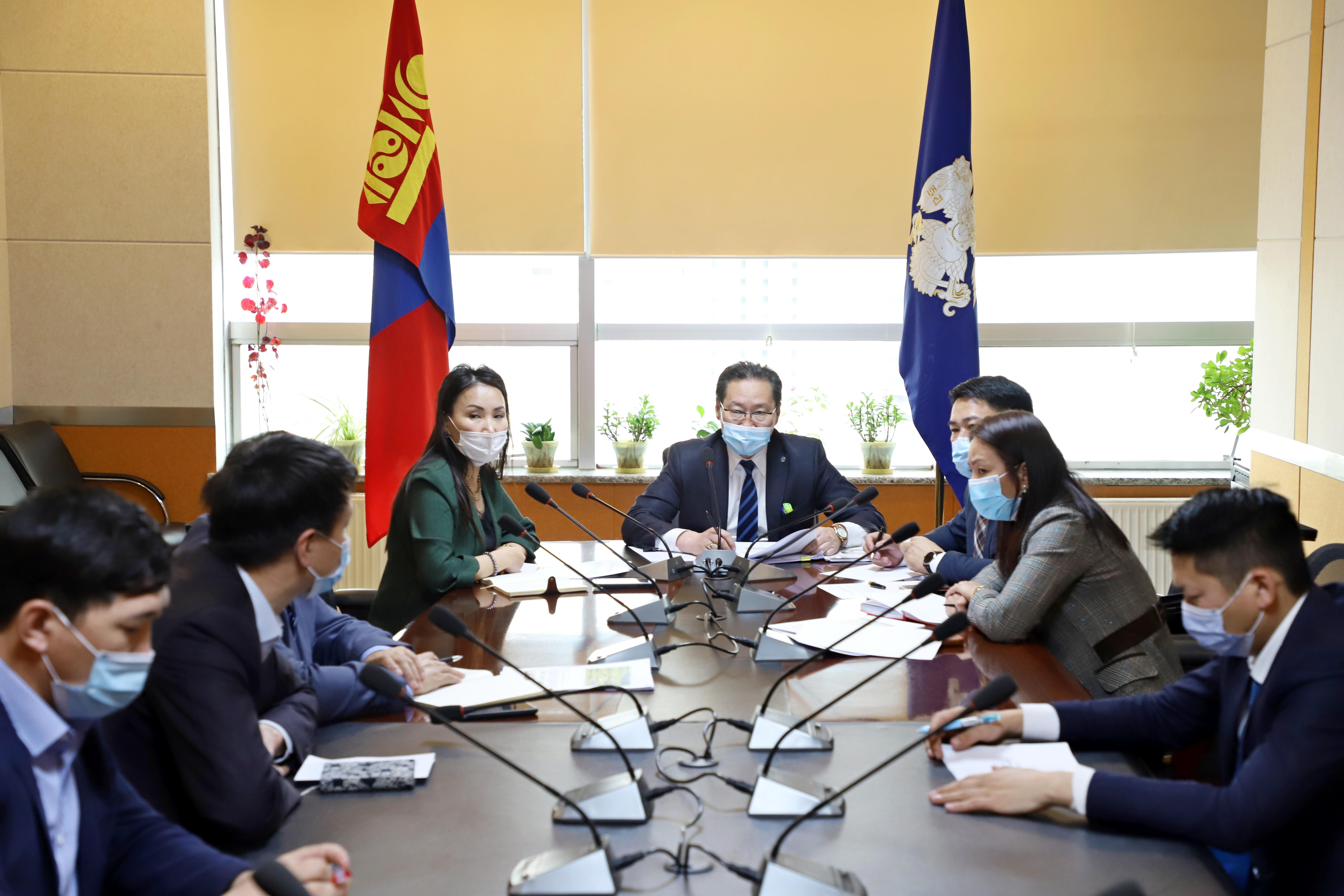 Монгол наадам цогцолборын асуудлаар хуралдав