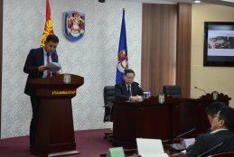 Улаанбаатар хотын ерөнхий менежерийн 2019 оны 02 дугаар сарын 01-ны өдрийн шуурхай зөвлөгөөнөөр өгч буй үүрэг даалгавар