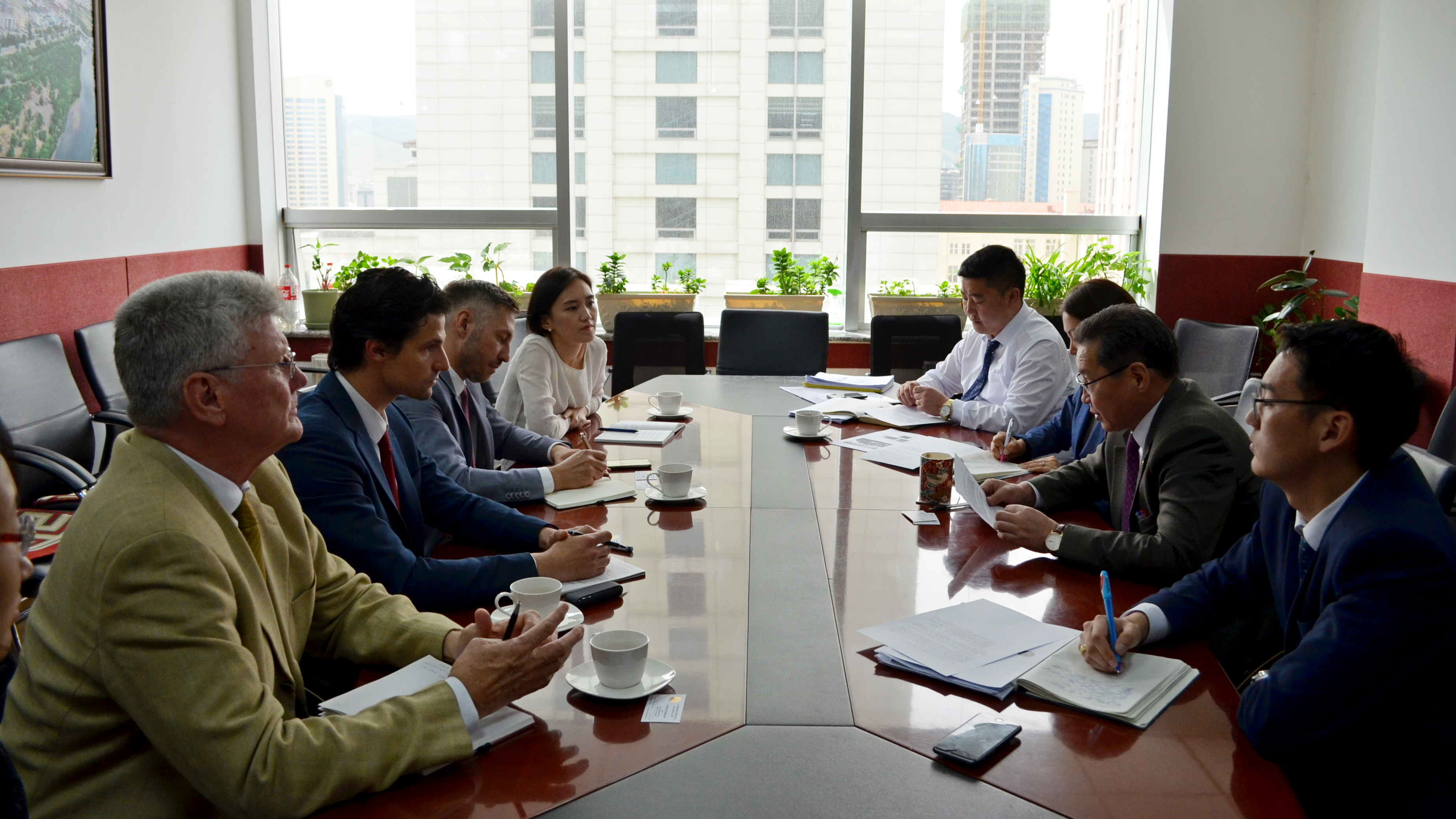 Даян дэлхийн ногоон хөгжлийн байгууллага, GIZ Германы хамтын ажиллагааны байгууллагуудын төлөөлөгчдийг хүлээн авч уулзлаа