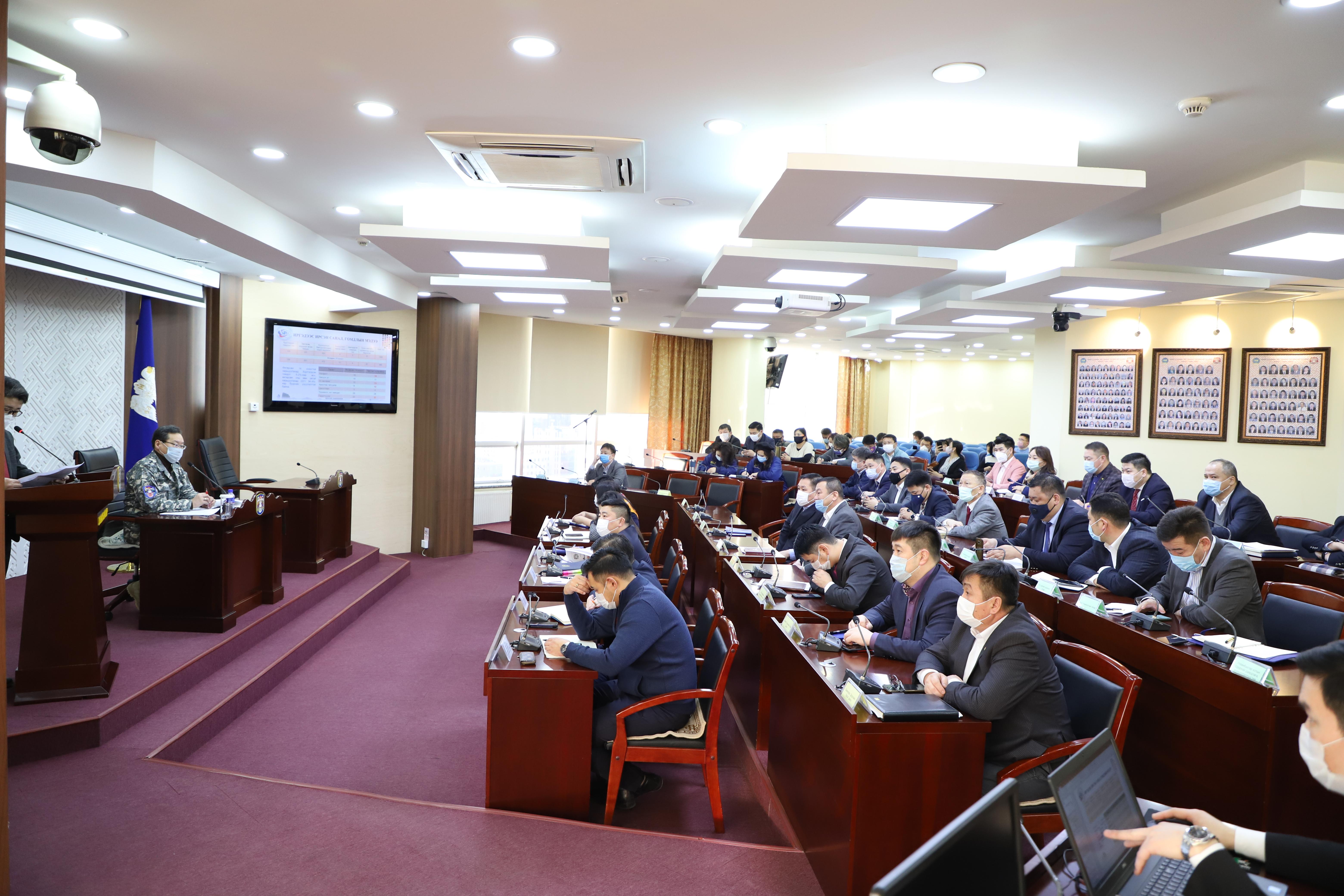 Улаанбаатар хотын Ерөнхий менежерийн 2020 оны 02 дүгээр сарын 28-ны өдрийн шуурхай зөвөлгөөнөөр өгч буй үүрэг даалгавар