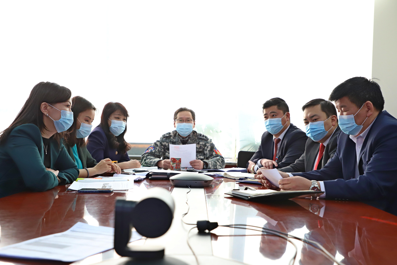 Улаанбаатар хотын Ерөнхий менежерийн 2020 оны 12 дугаар сарын 18-ны өдрийн шуурхай зөвлөгөөнөөр өгч буй үүрэг даалгавар